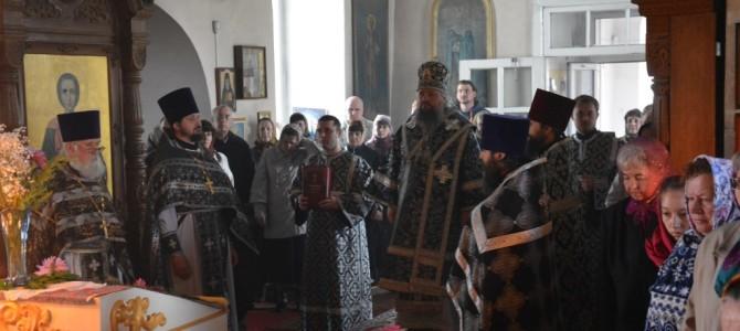 Историческое событие.  Впервые в Кунье Преждеосвященную Литургию совершил епископ.