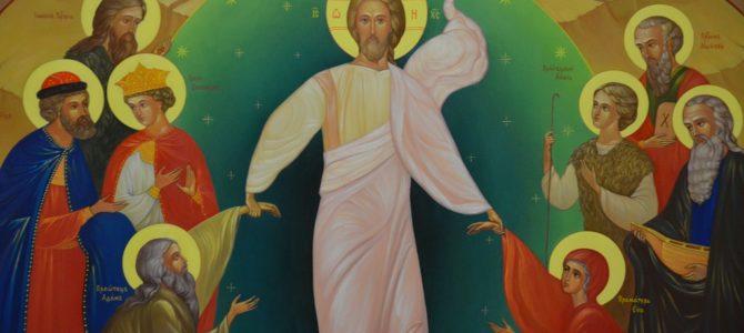 Новая икона «Воскресение Христово» установлена на своём месте.