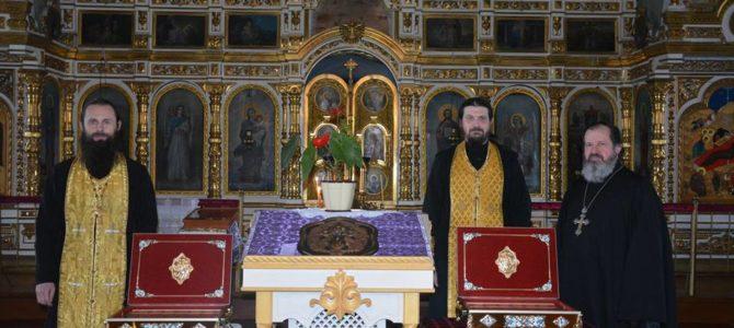 Святые преподобные отцы Киево-Печерские, молите Бога о нас!