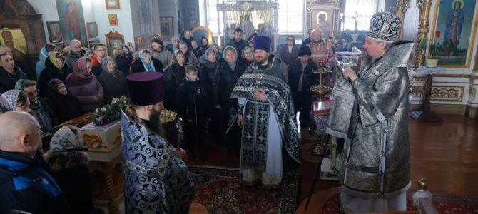 Проповедь епископа Паисия в Кунье.