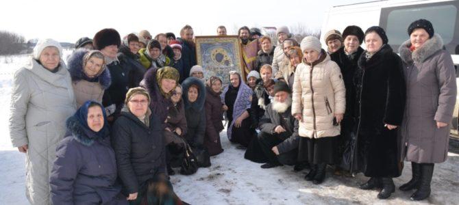 Пряжевская икона Пресвятой Богородицы побывала в Кунье.
