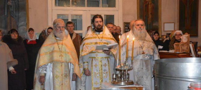 Праздник Богоявления в Кунье